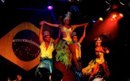 Diner + Braziliaanse show