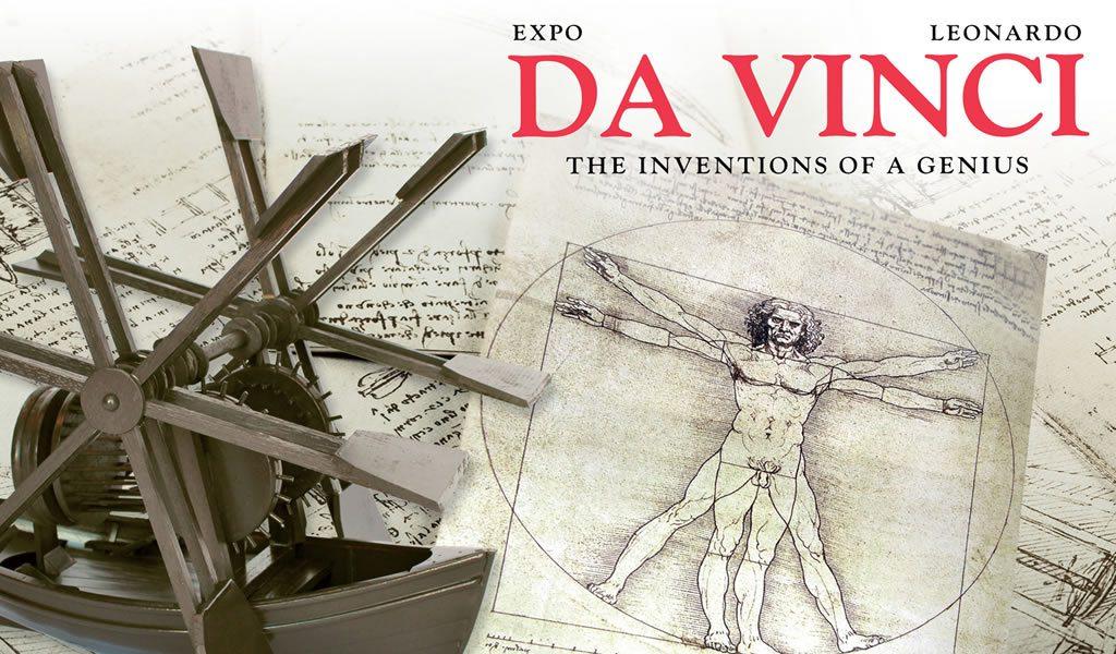 Expo da Vinci in Brugge