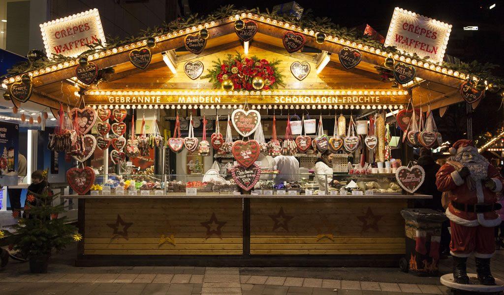 Kerstshoppen in D�sseldorf