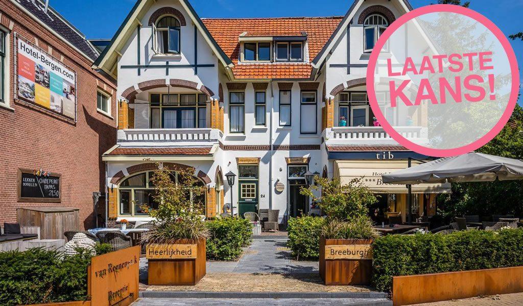 Gezellig hotel in hartje Bergen