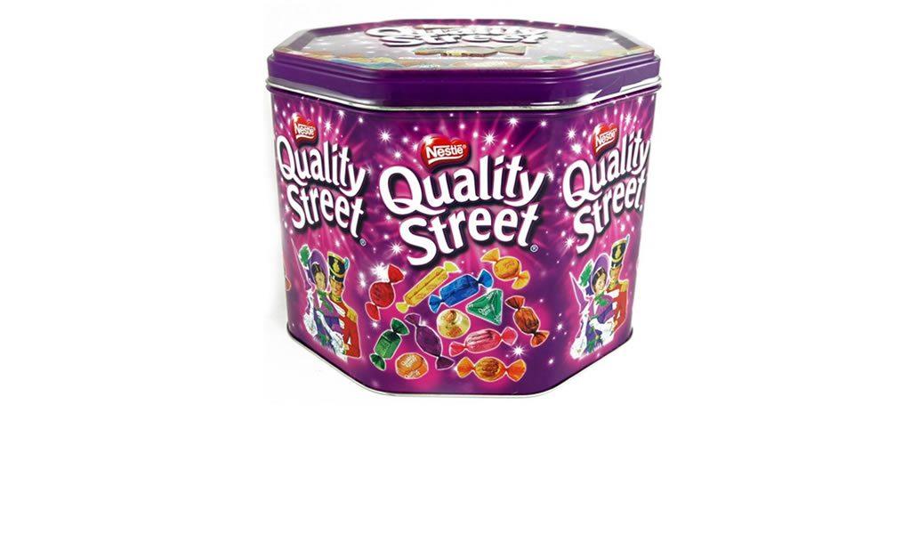 Quality Street snoepblik