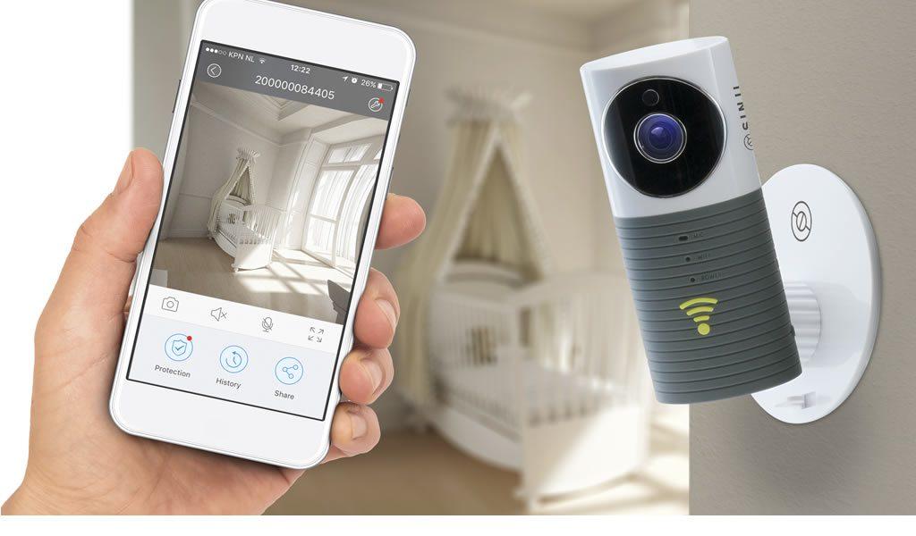 Beveiligingscamera met nachtzicht