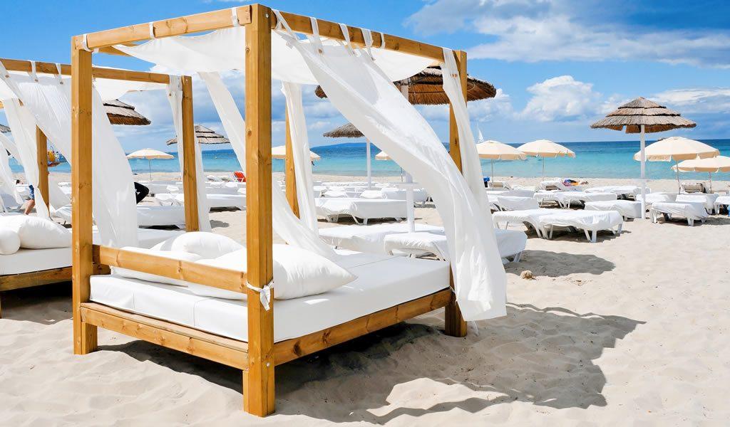 5 of 8 dagen zonnig Ibiza