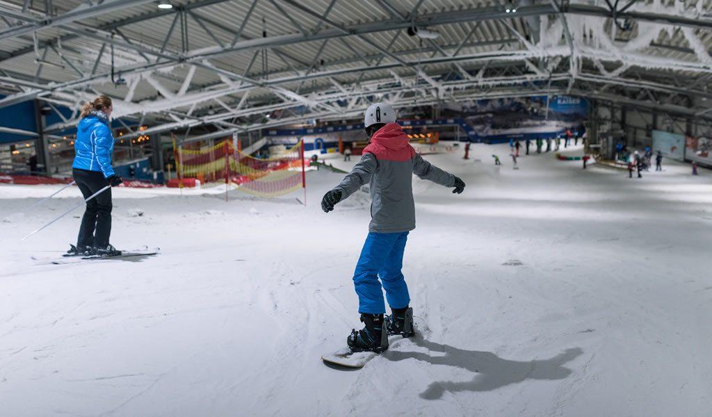 Skiën/snowboarden bij De Uithof