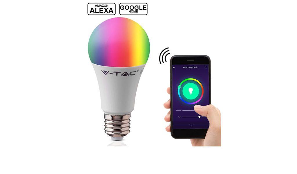 Korting 3 pack wifi smart lights