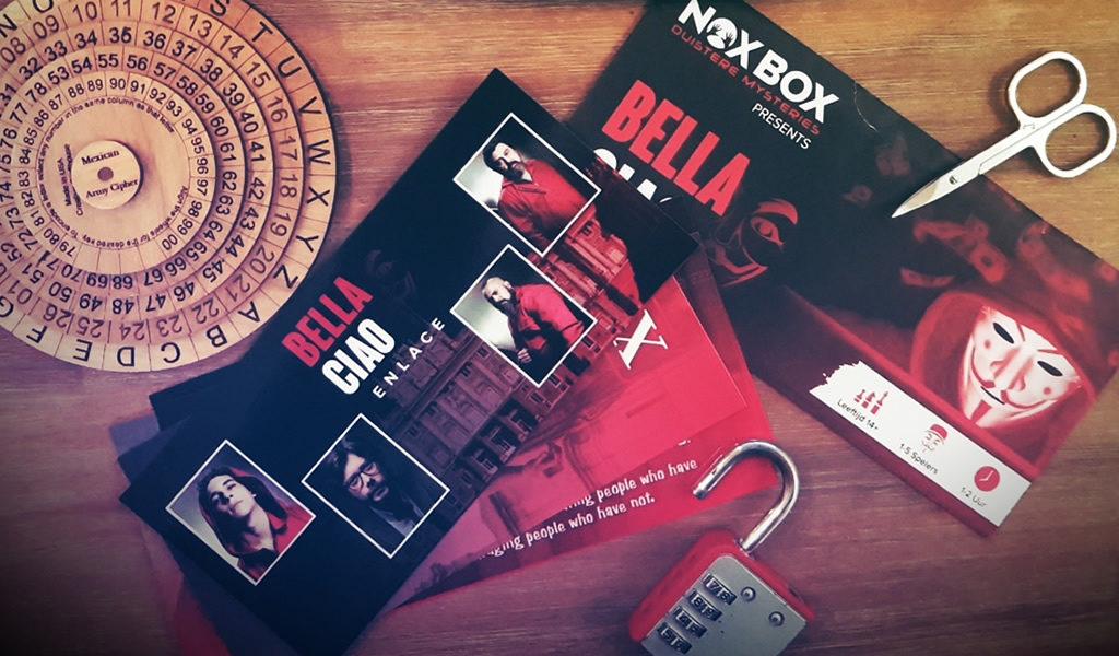 Korting Escape spel voor thuis Bella Ciao Amsterdam