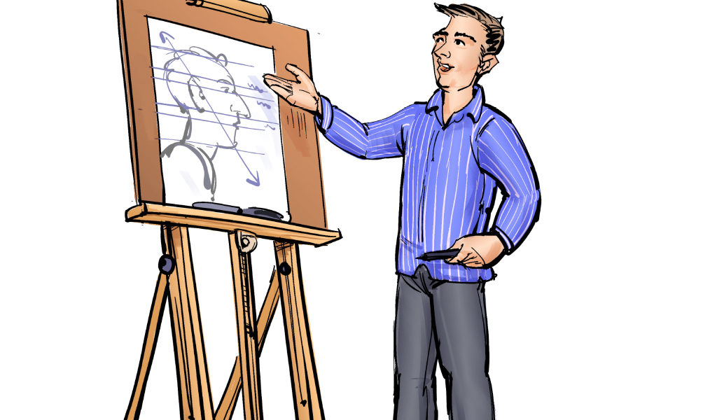 Online cursus - Portret tekenen