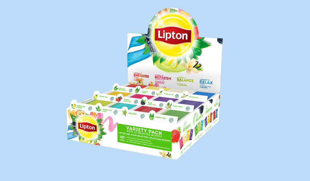 Korting Lipton Feel Good Selection