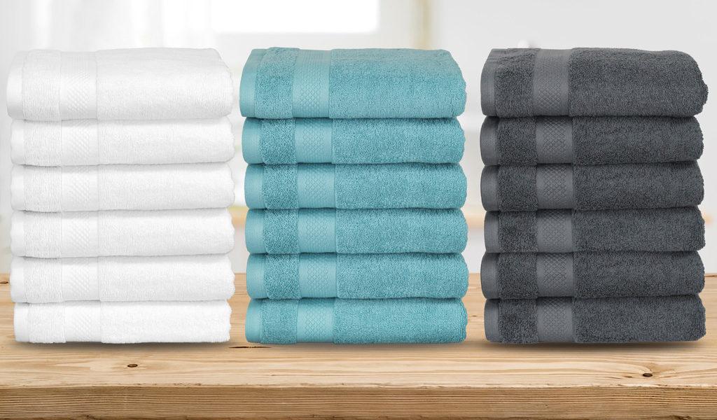 6 handdoeken van hotelkwaliteit