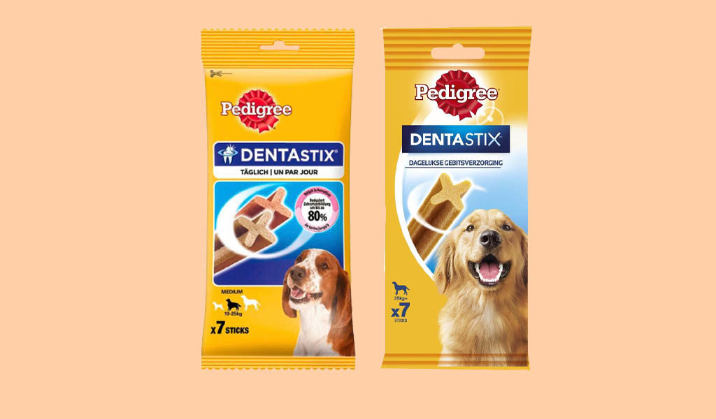 Korting 10 pack Pedigree Dentastix