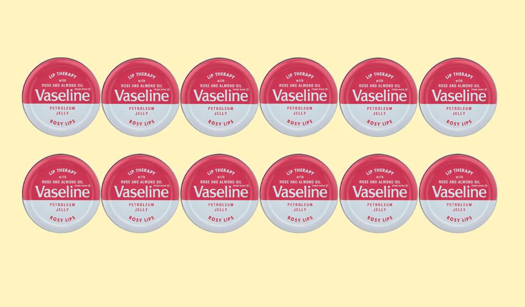 Vaseline Rosy lips 12 stuks