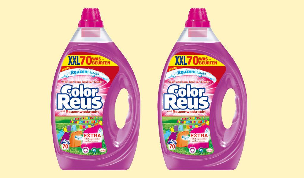 2 stuks Color Reus wasmiddel 3.5 liter