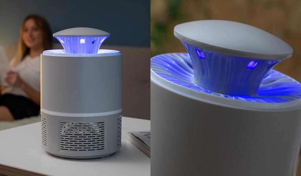 Anti-muggen lamp