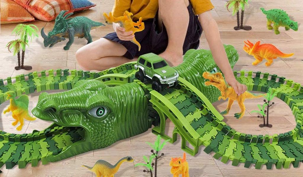 Korting Dinosaurus racebaan Amsterdam