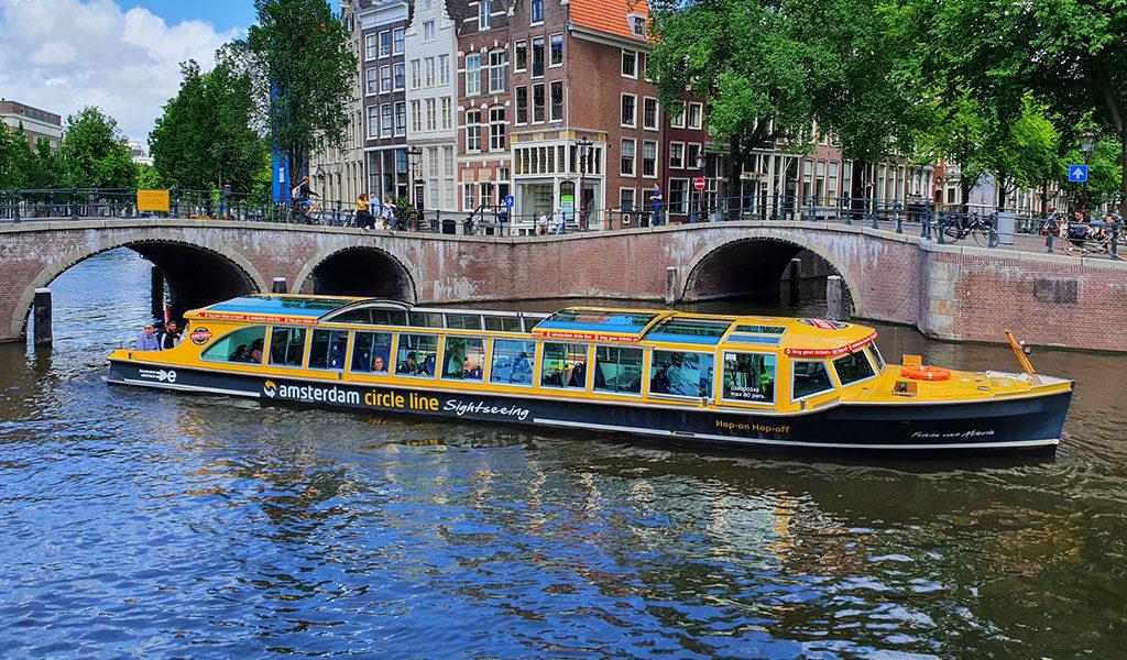 Leuke rondvaart door Amsterdam
