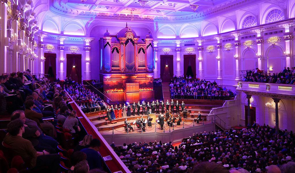 Klassiek concert Messiah van Händel